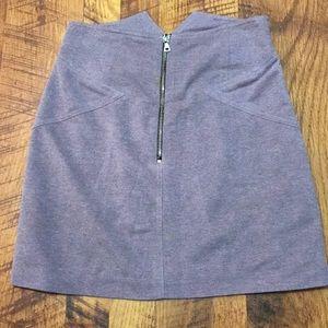Alexander Wang Zipper Front Skirt Size 2